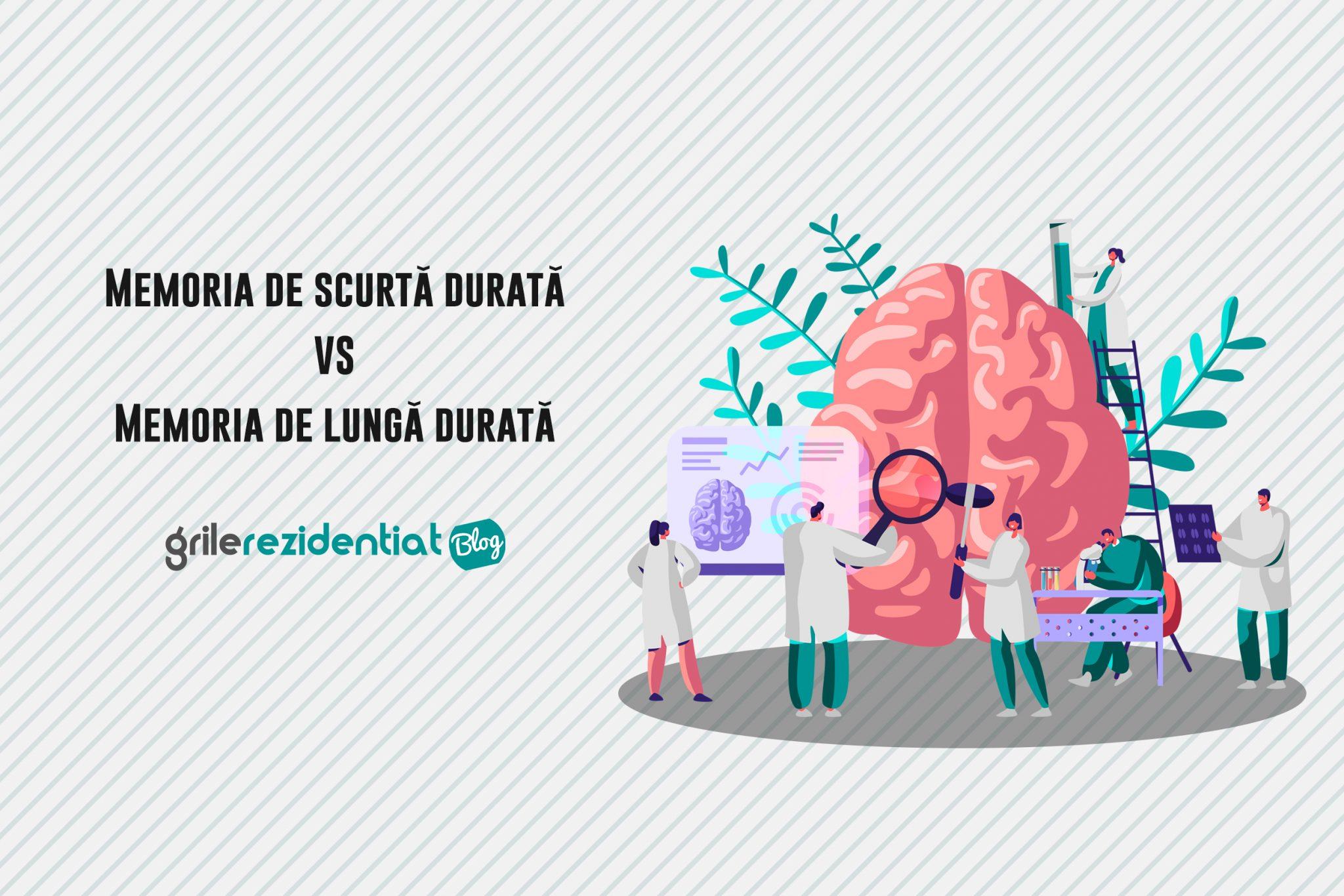 Memorie de lungă durată vs Memorie de scurtă durată